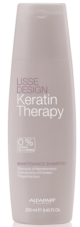 Купить ALFAPARF MILANO Кератиновый шампунь-гладкость для волос Lisse Design Maintenance Shampoo, 250 мл (ALFAPARF MILANO, Трансформация формы)