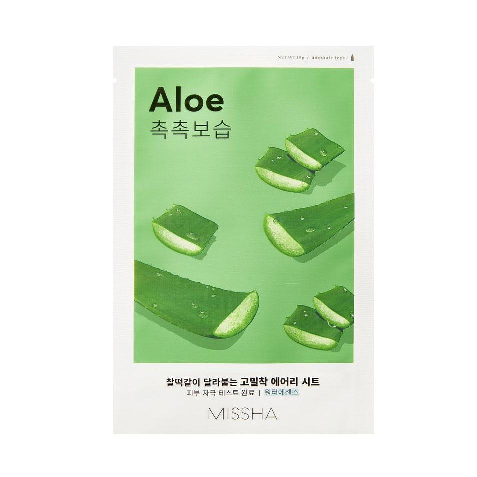 Купить Missha Тканевая маска для лица Aloe (Missha, Уход за лицом)