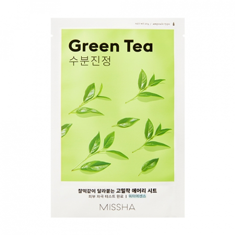 Купить Missha Тканевая маска для лица Green Tea (Missha, Уход за лицом)