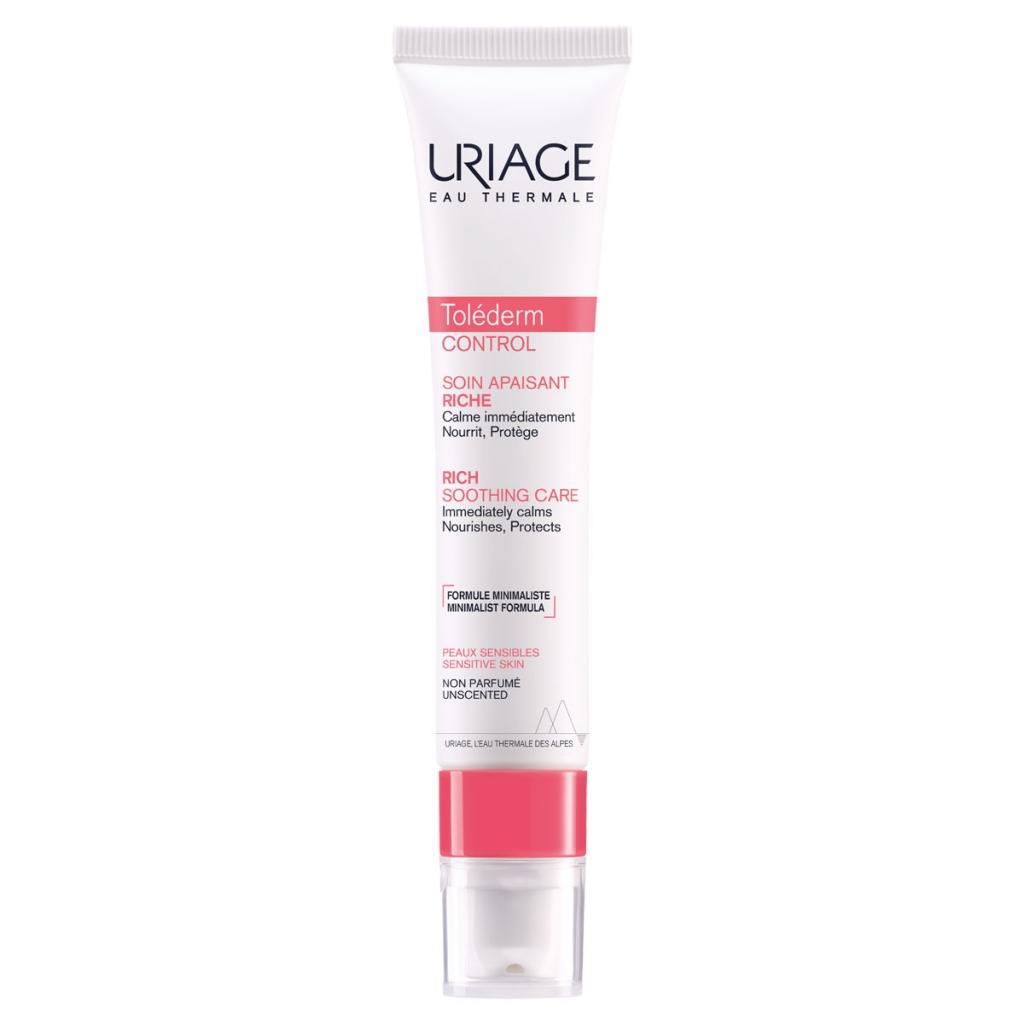 Купить Uriage Успокаивающий обогащенный крем, 40 мл (Uriage, Tolederm)