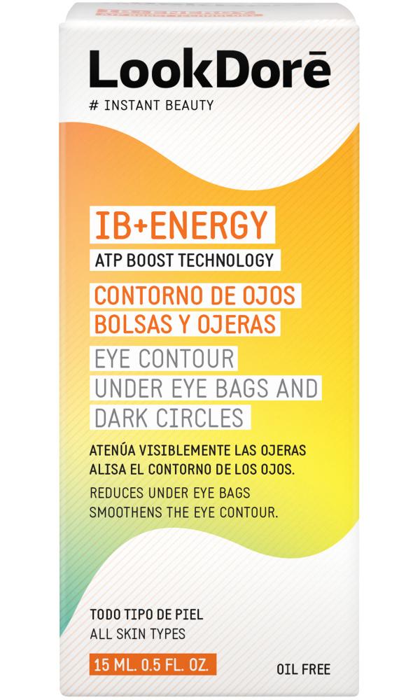 Купить Lookdore Легкий крем-флюид против темных кругов и мешков под глазами, 15 мл (Lookdore, IB+ENERGY)