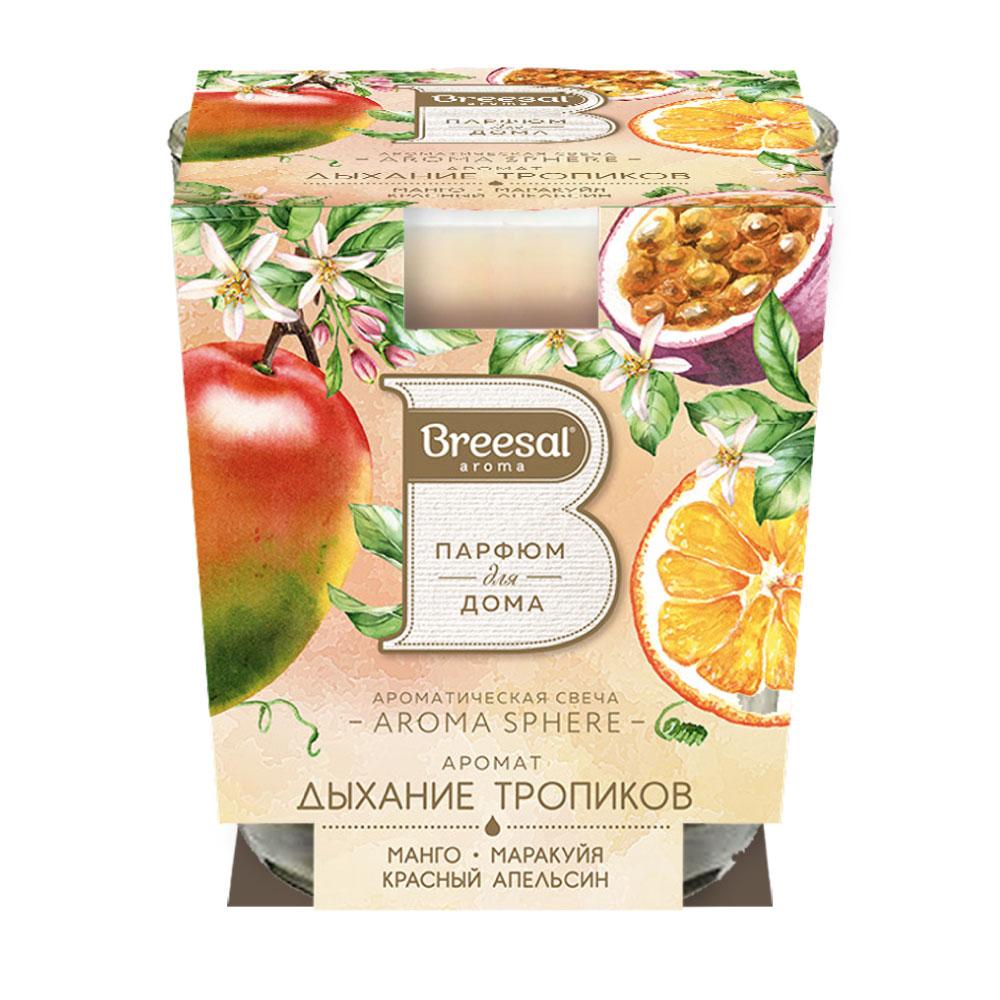 Купить Breesal Ароматическая свеча Aroma Sphere «Дыхание тропиков» (Breesal, Ароматические свечи)