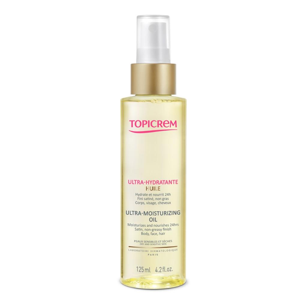 Купить Topicrem Ультра-увлажняющее масло для тела, лица и волос 125 мл (Topicrem, Ультра-увлажнение тела - Чувствительная кожа)