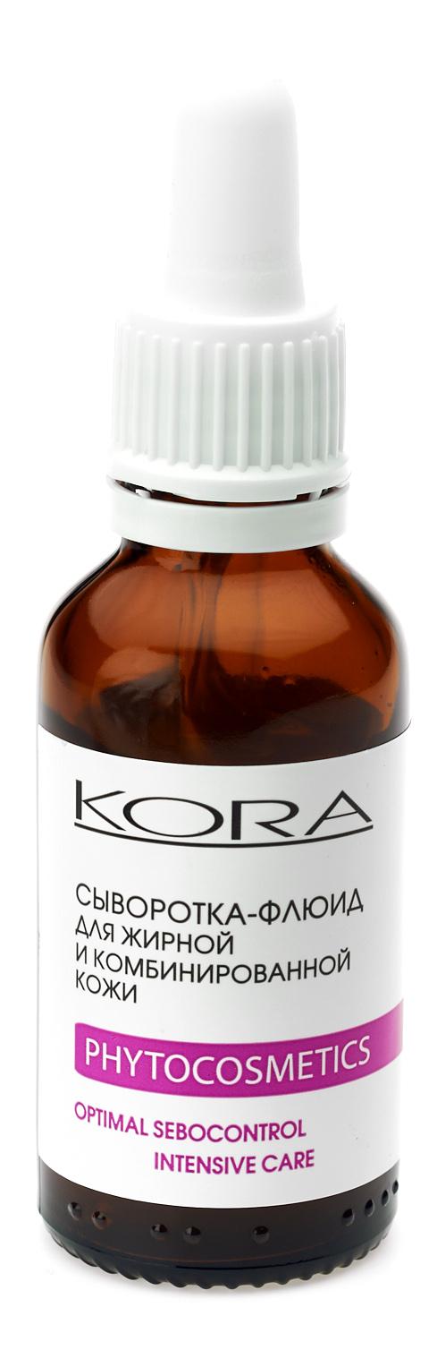 Купить Кора Сыворотка-флюид для жирной и комбинированной кожи, 30 мл (Кора, Для жирной кожи)