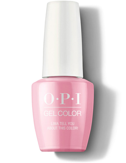 Купить O.P.I. Гель-лак для ногтей Peru, 15 мл - Lima Tell You About This Color! (O.P.I., Gel Color)