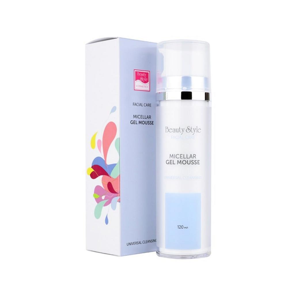 Купить Beauty Style Мицеллярный очищающий гель-мусс Cleansing universal для всех типов кожи, 120 мл (Beauty Style, Чистка лица)