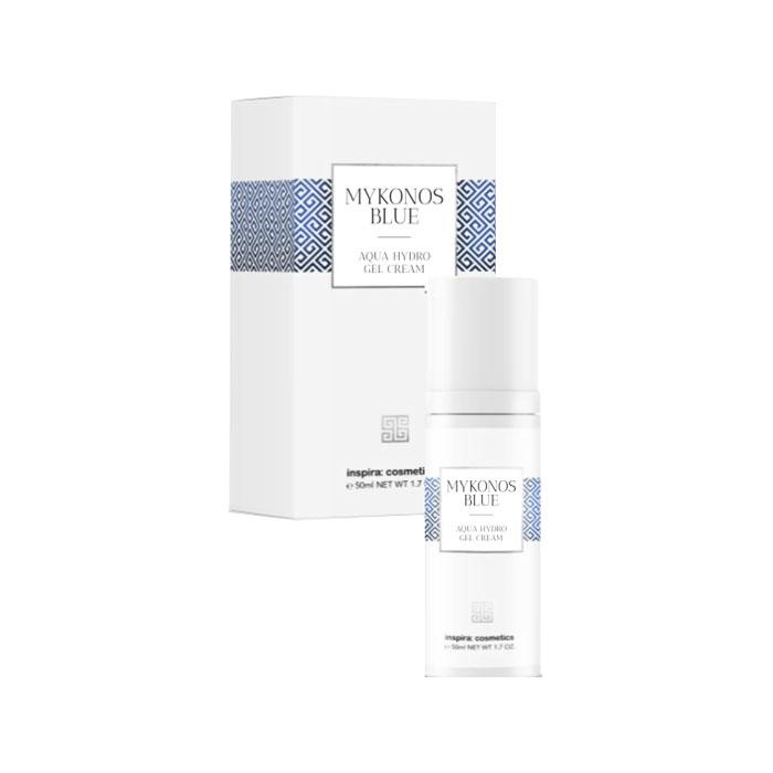 Купить Inspira Cosmetics Интенсивно увлажняющий гель-крем Aqua Hydro Gel Cream, 50 мл (Inspira Cosmetics, Mykonos Blue)