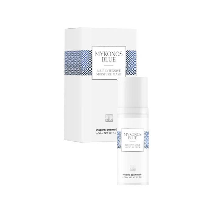 Купить Inspira Cosmetics Интенсивно увлажняющая маска Intensive Moisture Mask, 50 мл (Inspira Cosmetics, Mykonos Blue)
