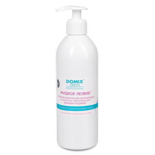 Купить Domix Средство для ускоренной подготовки к маникюру и педикюру Жидкое лезвие , 500 мл (Domix, Для педикюра)