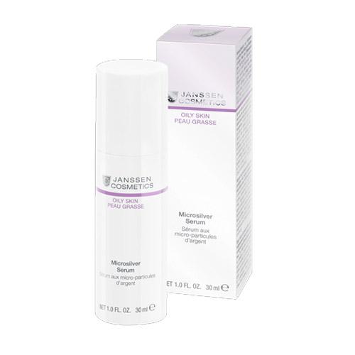 Купить Janssen Microsilver serum Сыворотка с антибактериальным действием для жирной, воспаленной кожи 30 мл (Janssen, Oily skin)