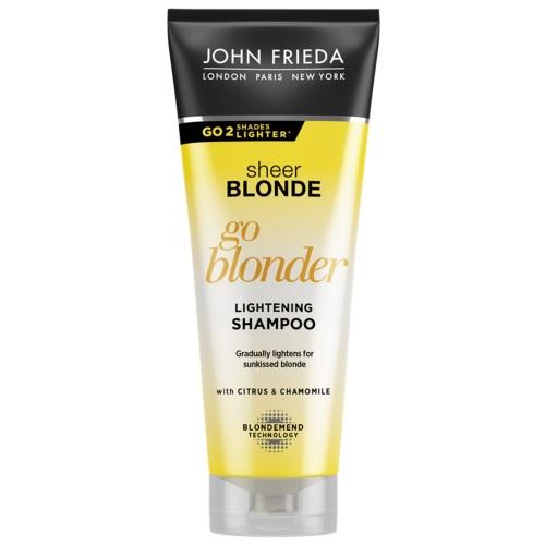 Купить John Frieda Шампунь осветляющий для натуральных, мелированных и окрашенных волос Go Blonder, 250 мл (John Frieda, Sheer Blonde)