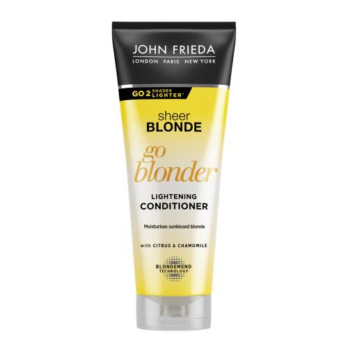 Купить John Frieda Кондиционер осветляющий для натуральных, мелированных и окрашенных волос Go Blonder, 250 мл (John Frieda, Sheer Blonde)