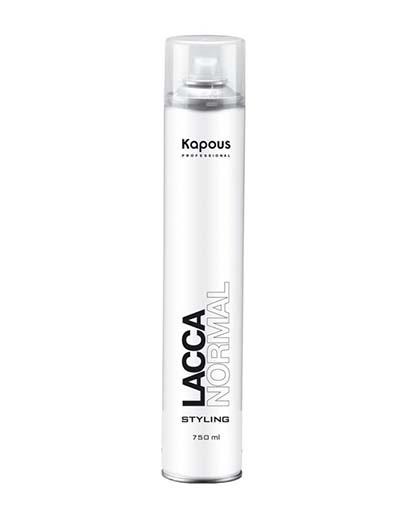 Kapous Professional Лак аэрозольный для волос нормальной фиксации, 750 мл (Kapous Professional, Styling) недорого