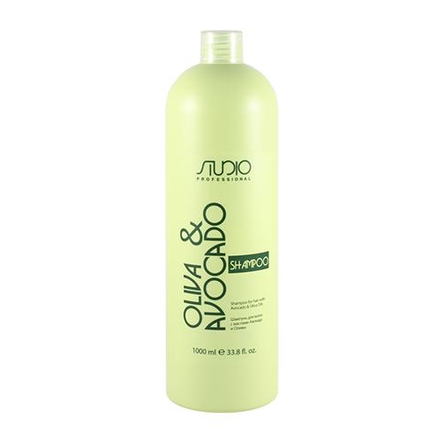 Купить Kapous Professional Шампунь увлажняющий для волос с маслами авокадо и оливы, 1000 мл (Kapous Professional, Kapous Studio)