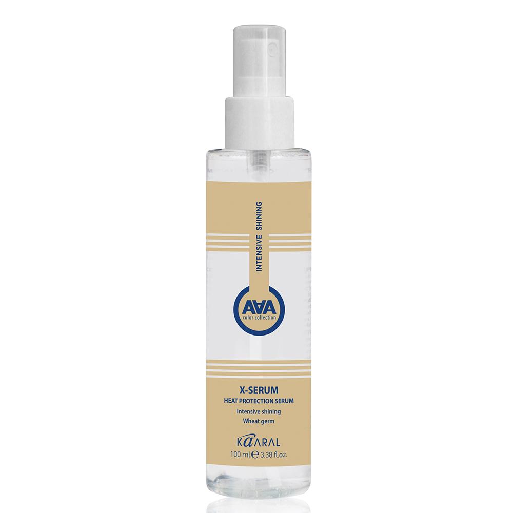 Купить Kaaral Сыворотка для защиты волос от термических воздействий с пшеничными протеинами X-Serum Heat Protection Serum, 100 мл (Kaaral, X-Form)