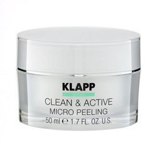 Купить Klapp Микропилинг Clean & active Micro Peeling 50 мл (Klapp, Clean & active)