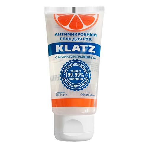 Klatz Антимикробный гель для рук с ароматом грейпфрута, 50 мл (Klatz, Antimicrobial)