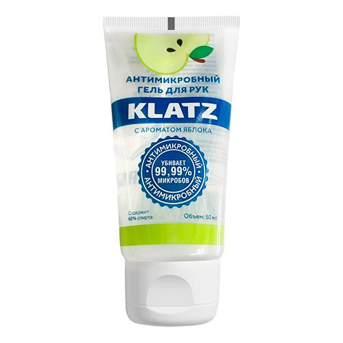 Klatz Антимикробный гель для рук с ароматом яблока, 50 мл (Klatz, Antimicrobial)