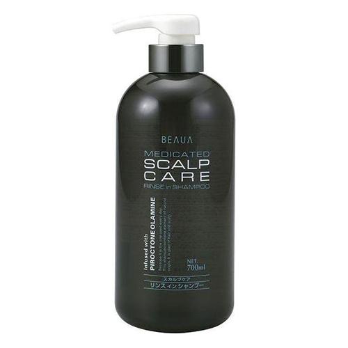 Купить Kumano Cosmetics Лечебный мужской шампунь Beaua Medicated Shampoo Scalp Care, 700 мл (Kumano Cosmetics, Шампуни для волос)