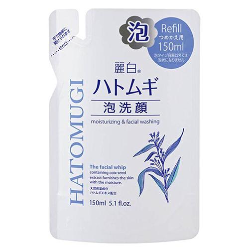 Купить Kumano Cosmetics Пенка для умывания Hatomugi Urarashiro Cleansing and Facial Washing Foam сменная упаковка, 150 мл (Kumano Cosmetics, Косметика для умывания)