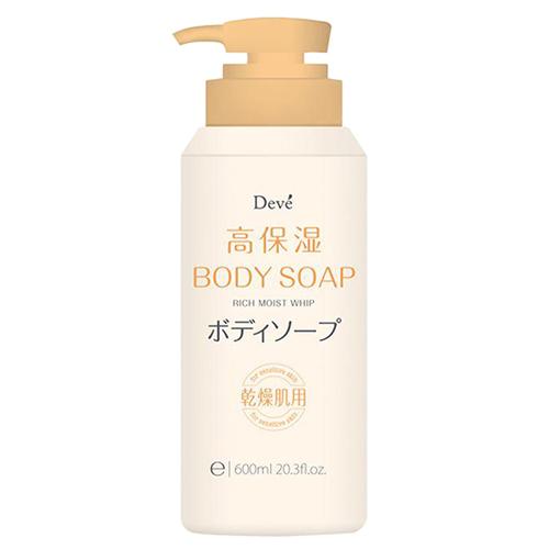Купить Kumano Cosmetics Жидкое мыло для тела увлажняющее Deve Rich Moist Whip Body Soap, 600 мл (Kumano Cosmetics, Жидкое мыло для тела)