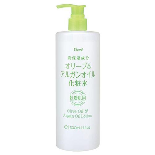 Купить Kumano Cosmetics Лосьон для тела c оливковым и аргановым маслами Deve Olive Oil and Argan Oil Lotion, 500 мл (Kumano Cosmetics, Лосьоны для лица и тела)