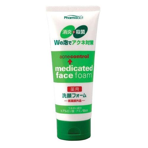 Купить KUMANO COSMETICS Пенка для умывания против черных точек Pharmaact Acne Control Medicated Face Foam, 130 г (KUMANO COSMETICS, Косметика для умывания)