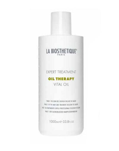 Купить La Biosthetique Масляный уход для интенсивного восстановления поврежденных волос, фаза 1 Vital Oil, 1000 мл (La Biosthetique, Уход за волосами и кожей головы)