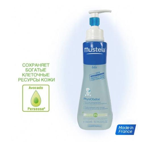 Купить Mustela Очищающая вода для новорожденных и детей, не требует смывания, 300 мл (Mustela, Bebe - ежедневная гигиена)
