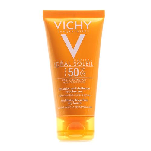 Купить Vichy Матирующая эмульсия для жирной кожи SPF 50, 50 мл (Vichy, Capital Ideal Soleil)