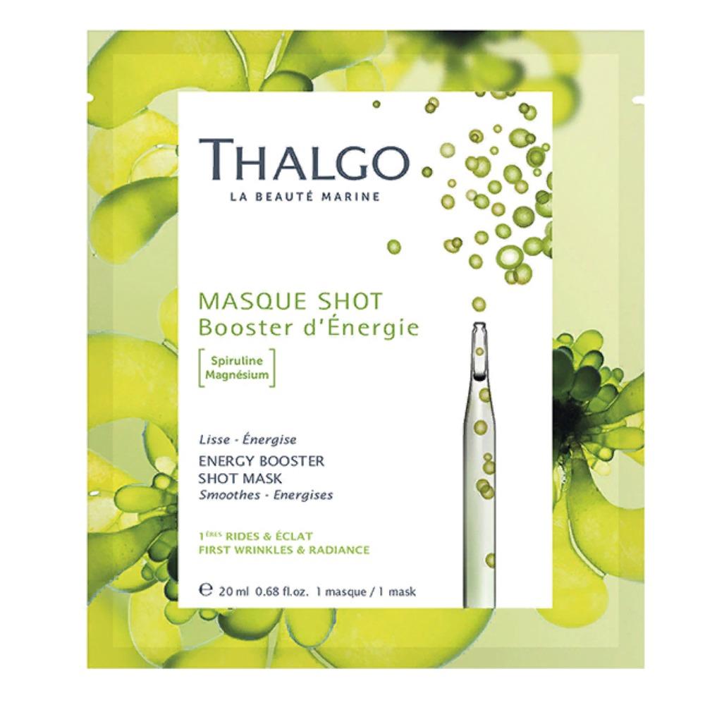 Купить Thalgo Энергизирующая экспресс-маска со Спирулиной, 20 мл (Thalgo, Masque Shot)
