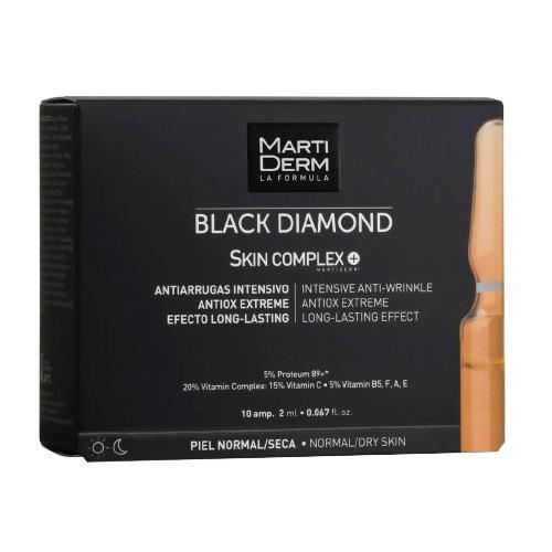 Купить Martiderm Блэк Даймонд Ампулы «Скин Комплекс +», 10х2 мл (Martiderm, Black Diamond)