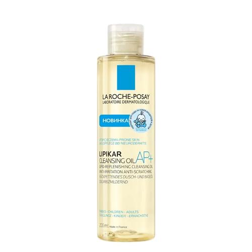 Купить La Roche-Posay Липикар Очищающее масло для купания Cleansing Oil AP+, 200 мл (La Roche-Posay, Lipikar)