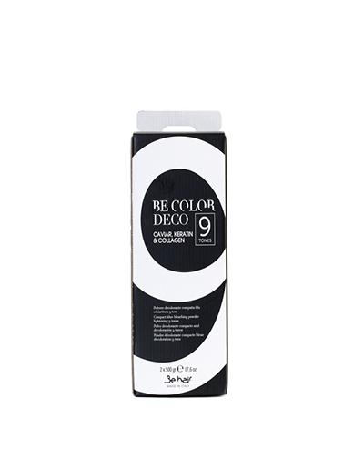 заказать Be Hair Пудра для осветления волос без аммиака до 9 тонов, 2 x 500 г (Be Color)