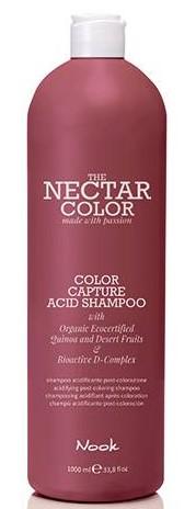 Купить Nook Фиксирующий шампунь после окрашивания Color Capture Acid Shampoo, 1000 мл (Nook, Nectar Color)