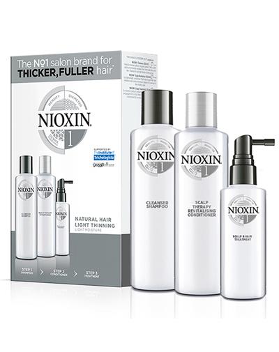 Купить Nioxin Набор Система 1 (Шампунь, 150 мл + Кондиционер, 150 мл + Маска, 50 мл) (Nioxin, 3D система ухода)