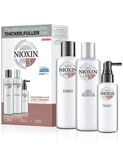 Купить Nioxin Набор (Система 3) 150 мл+150 мл+50 мл (Nioxin, 3D система ухода)