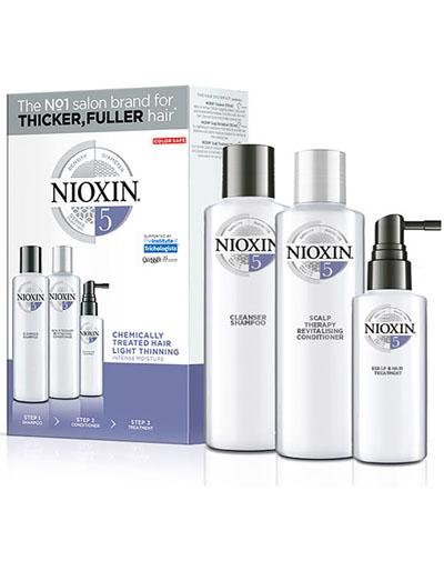 Купить Nioxin Набор (Система 5) 150 мл+150 мл+50 мл (Nioxin, 3D система ухода)