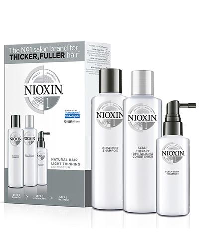 Купить Nioxin Набор XXL (Система 1) 300 мл + 300 мл+ 100 мл (Nioxin, 3D система ухода)
