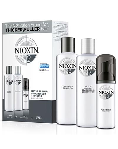 Купить Nioxin Набор XXL (Система 2) 300 мл+300 мл+100 мл (Nioxin, 3D система ухода)