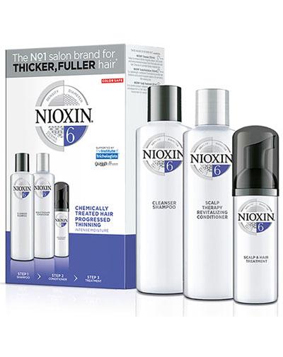 Купить Nioxin Набор XXL (Система 6) 300 мл+300 мл+100 мл (Nioxin, 3D система ухода)