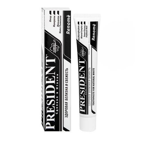 Купить President Зубная паста для здоровой белизны, 50 мл (President, Renome)