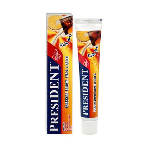 Купить President Детская зубная паста 3-6 лет, 50 мл (President, Для детей)
