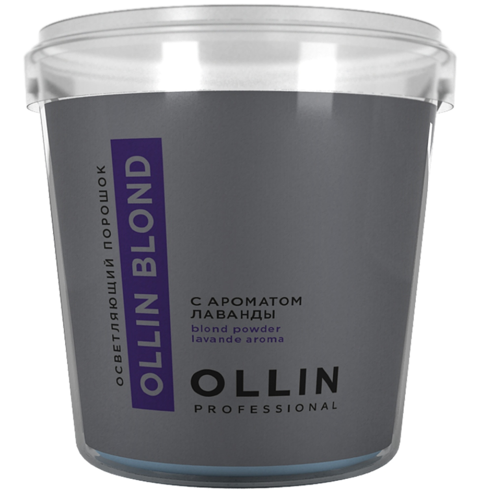 Ollin Professional Осветляющий порошок с ароматом лаванды, 500 г (Ollin Professional, Окрашивание волос)