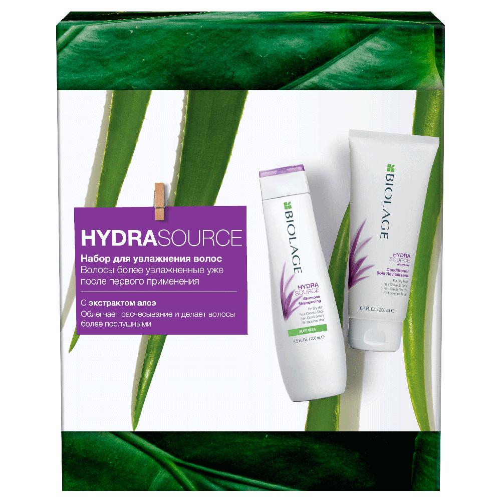Купить Matrix Набор Biolage Hydrasource для увлажнения волос (Шампунь Hydrasource, 250 мл + Кондиционер Hydrasource, 200 мл) (Matrix, Biolage)