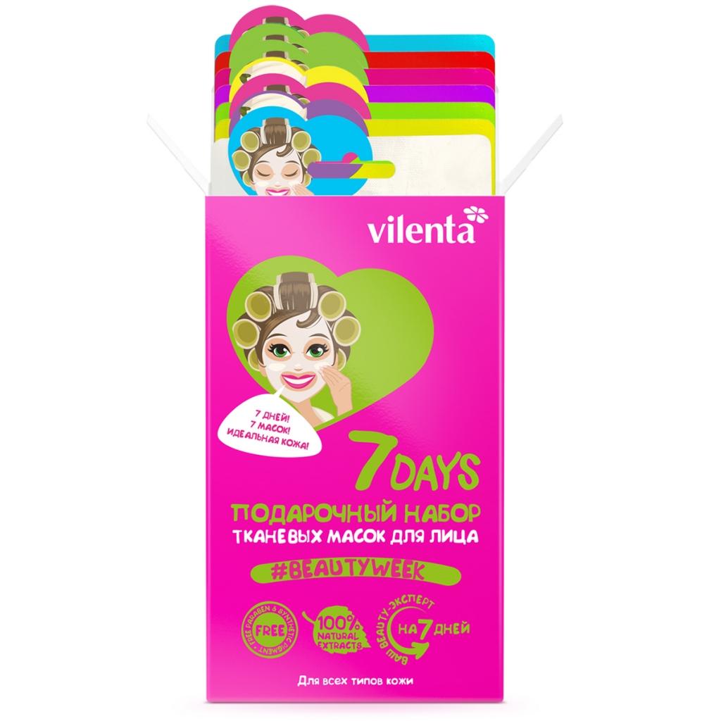 Купить 7 Days Подарочный набор Beauty Mix (7 масок), 1 шт. (7 Days, )