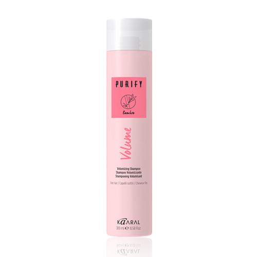 цена Kaaral Шампунь-объём для тонких волос Volumizing Shampoo, 300 мл (Kaaral, Purify) онлайн в 2017 году