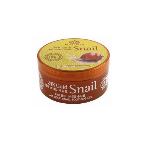 Купить Royal Skin Многофункциональный гель для лица и тела с 24 каратным золотом и улиточной слизью, 300 мл (Royal Skin, Для лица)