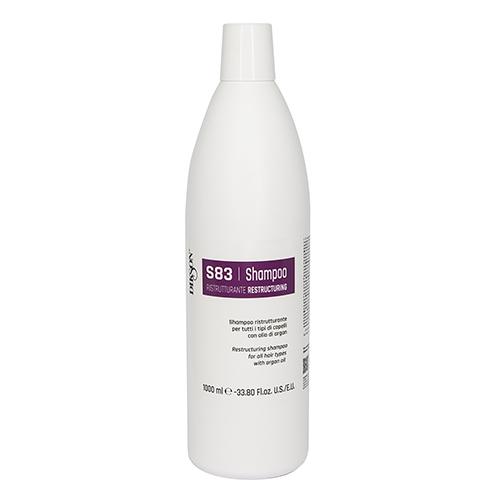 Купить Dikson Шампунь восстанавливающий для всех типов волос с аргановым маслом Shampoo Ristrutturante S83, 1000 мл (Dikson, SM)