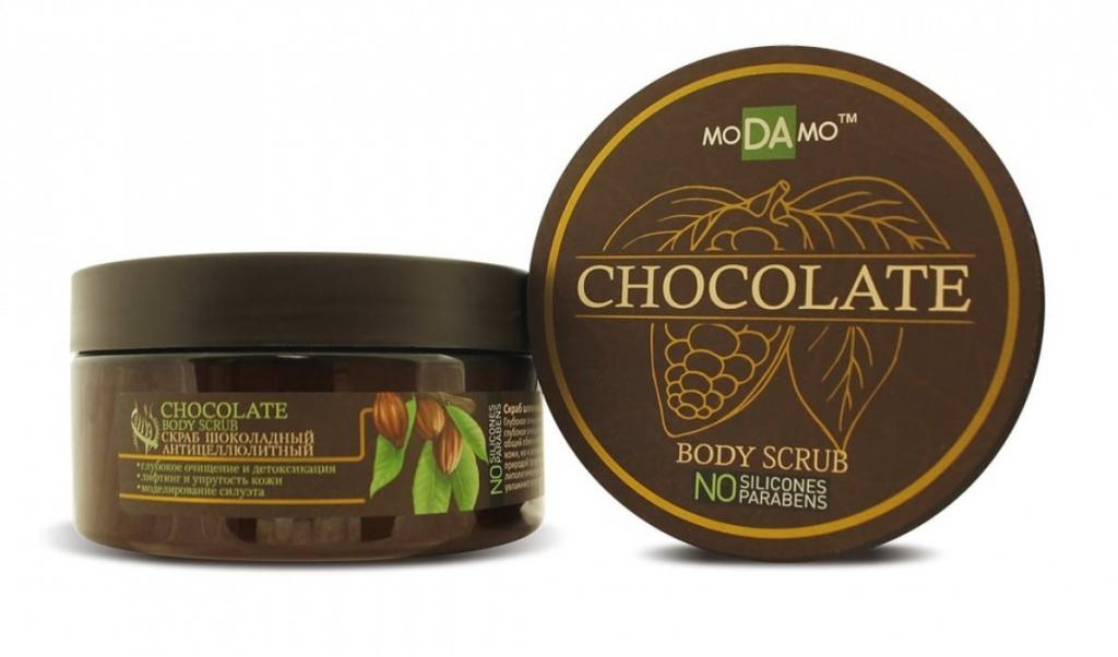 Купить Modamo Шоколадный скраб, 200 мл (Modamo, Chocolate)